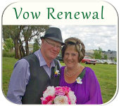 Anniversary Vow Renewal Emerald
